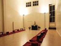 Zendo van Dharmahuis Leeuwarden
